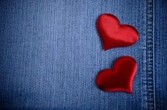 De achtergrond voor de dag van Valentine Stock Foto