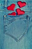 De achtergrond voor de dag van Valentine Stock Foto's