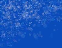 De achtergrond winter Stock Fotografie
