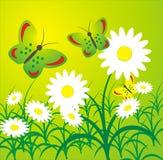 De achtergrond zomer vector illustratie