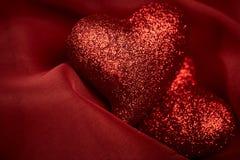 De achtergronden van de abstracte Valentijnskaart Stock Fotografie