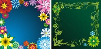 De achtergronden van de bloem stock illustratie