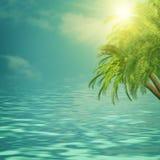 De achtergronden van de de zomerreis Stock Foto's