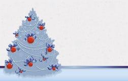 De Achtergronden van de kerstkaart Stock Afbeelding
