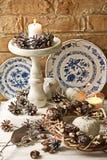 De achtergronden van de Kerstmisdecoratie Royalty-vrije Stock Foto's
