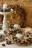 De achtergronden van de Kerstmisdecoratie Royalty-vrije Stock Foto