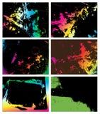 De achtergronden van Grunge Stock Foto's