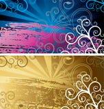 De achtergronden van Grunge Royalty-vrije Stock Afbeeldingen