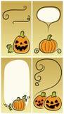De achtergronden van Halloween Stock Afbeelding