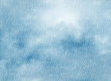 De achtergronden van het regenonweer in bewolkt weer vector illustratie