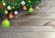 De achtergronden van Kerstmis stock illustratie