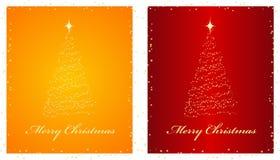 De achtergronden van Kerstmis. Royalty-vrije Stock Afbeeldingen