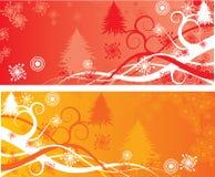 De achtergronden van Kerstmis, vector Royalty-vrije Stock Foto