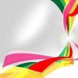 De achtergrondwerveling toont Lege Ruimte en Artistiek vector illustratie