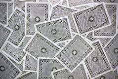 De achterkant van de speelkaart Royalty-vrije Stock Afbeelding