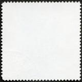 De achterkant van een postzegel Stock Afbeeldingen