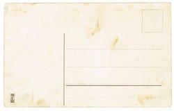 De achterkant van prentbriefkaaren van de vroege 20ste eeuw Royalty-vrije Stock Foto