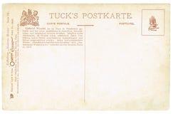De achterkant van prentbriefkaaren van de vroege 20ste eeuw Stock Foto