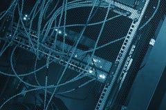 De achterkantgegevens centreren gekleurde LEIDENE verlichting Royalty-vrije Stock Afbeeldingen