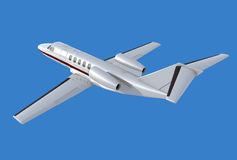 De achtermening van het Citaat van Cessna cj4 Royalty-vrije Stock Fotografie