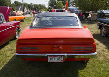 1967 de Achtermening van Pontiac Firebird Royalty-vrije Stock Afbeeldingen