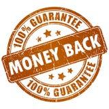 De achterzegel van het geld Royalty-vrije Stock Foto