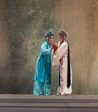 """De achtste handeling die nieuw krijgen - geboren kind-Kunqu Opera""""Madame Witte Snake† stock foto's"""