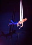 De acrobaat van het circus royalty-vrije stock afbeeldingen