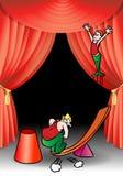 De acrobaatuitvoerder van de hefboomwerking Royalty-vrije Stock Fotografie