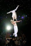 De acrobaten van de lucht Royalty-vrije Stock Foto's