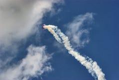 De acrobatiek van de lucht Royalty-vrije Stock Afbeelding