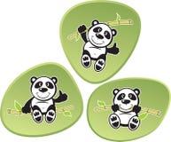 De Acrobatiek van de panda Royalty-vrije Stock Afbeeldingen