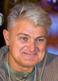 De acteur en de impresario Vladimir Turchinsky Stock Foto's