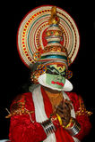 De acteur van de tradionaldans van Kathakali royalty-vrije stock foto's