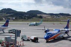 De actie Tenerife van de luchthaven Stock Fotografie