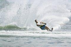 De Actie van de Slalom van mensen - Chris Parrish Royalty-vrije Stock Foto