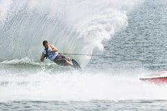 De Actie van de Slalom van mensen - Jean Baptiste Faisy Stock Foto