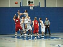 De Actie van het basketbal Royalty-vrije Stock Afbeelding