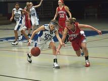 De Actie van het basketbal Stock Afbeelding