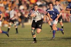 De actie van het rugby Stock Afbeelding