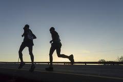 De Actie van marathonagenten Royalty-vrije Stock Fotografie