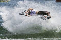 De Actie van Shortboard van mensen - Ryan Dodd Stock Afbeeldingen