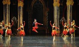 De actieve clown de atmosfeer-prins van bar het mitzvah-derde handeling-ballet Zwaanmeer royalty-vrije stock afbeeldingen