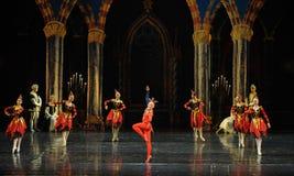 De actieve clown de atmosfeer-prins van bar het mitzvah-derde handeling-ballet Zwaanmeer royalty-vrije stock foto