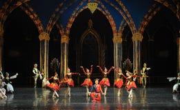De actieve clown de atmosfeer-prins van bar het mitzvah-derde handeling-ballet Zwaanmeer stock afbeeldingen