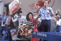 De activisten van de anti-abortus stock foto's