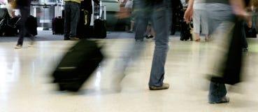 De activiteit van de luchthaven Stock Afbeeldingen