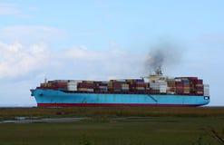De activiteiten van de haven in Hamburg Royalty-vrije Stock Fotografie