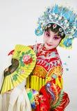 De actrice van het drama Stock Fotografie