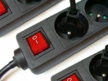 De adapters van de stop Stock Fotografie